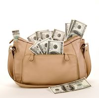Purse-with-money