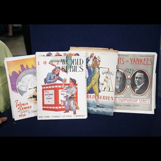 World series programs