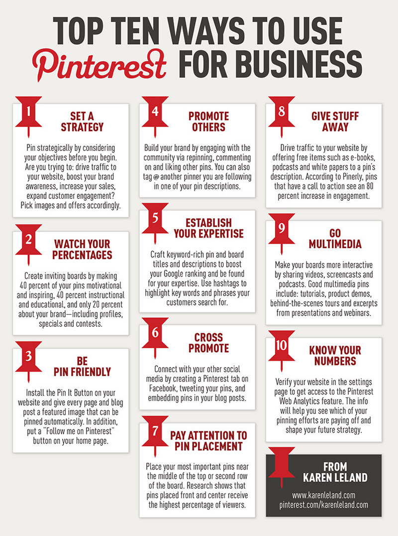 the big red corner top 10 ways use business